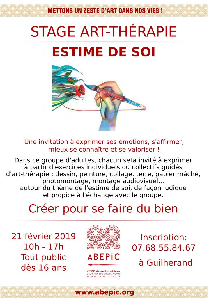 Jeune Stage Art-Thérapie – Estime de Soi – ABEPIC IN-48